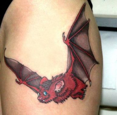 itattooz-bat-pic-tattoo