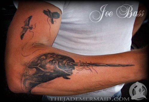 narwhal-tattoo-by-joe-bass-at-the-jade-mermaid