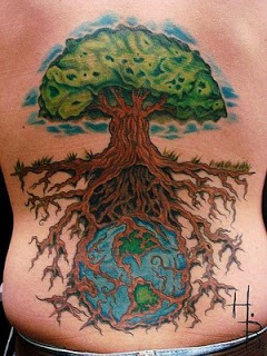 EarthTreeTattoo