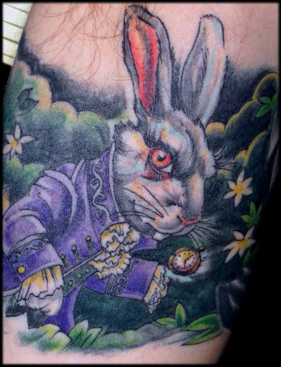 white_rabbit_tattoo_by_marloe-d3im4np