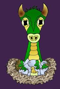 My green dragon