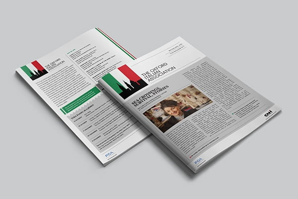 The Oxford Italian Association Magazine