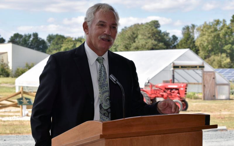 Delaware Department of Agriculture Secretary Michael Scuse