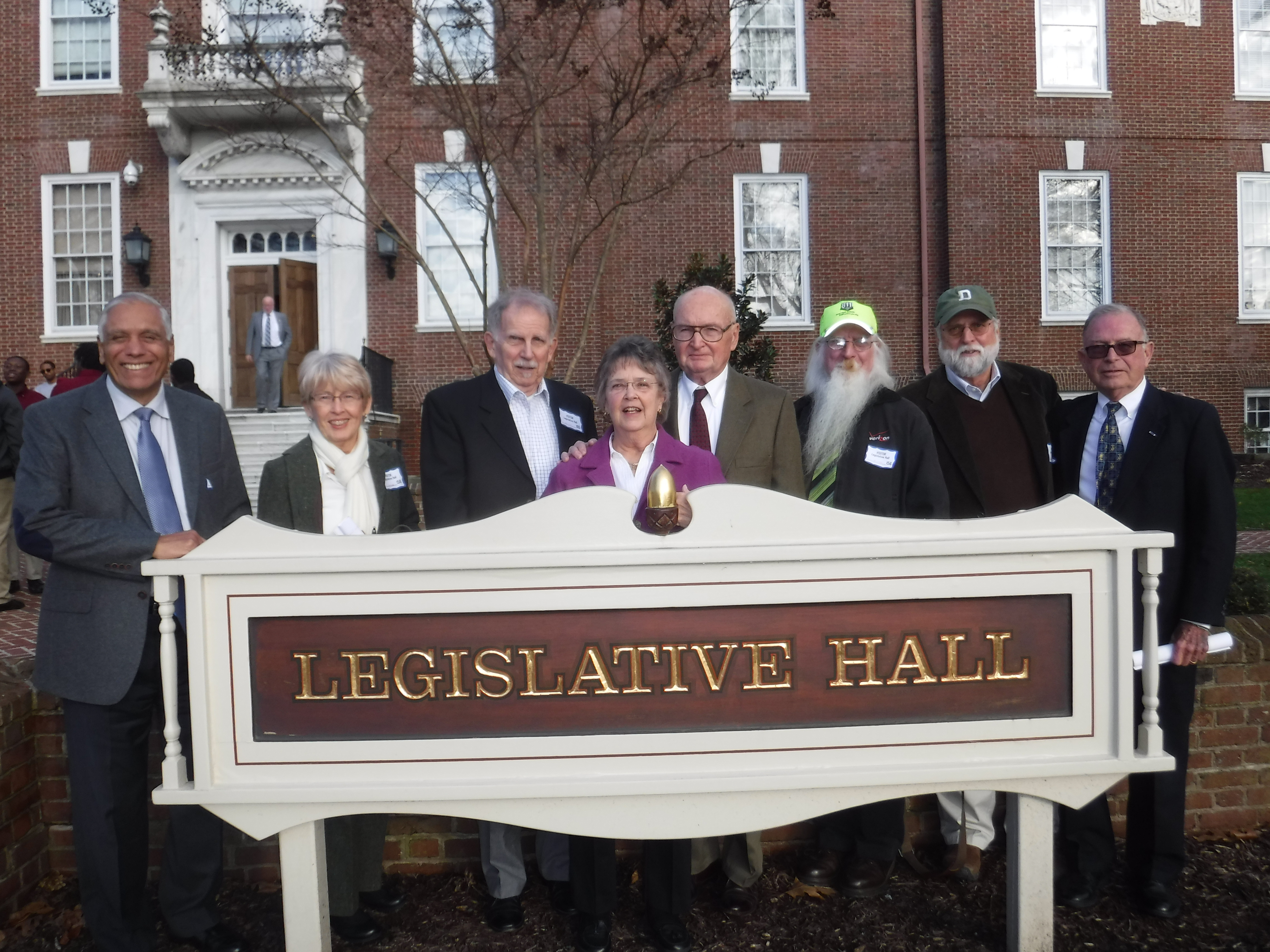IBF at Legislative Hall.
