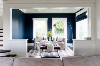 My Houzz: Soothing Blues and Organic Style in a 1912 Fixer-Upper (32 photos)
