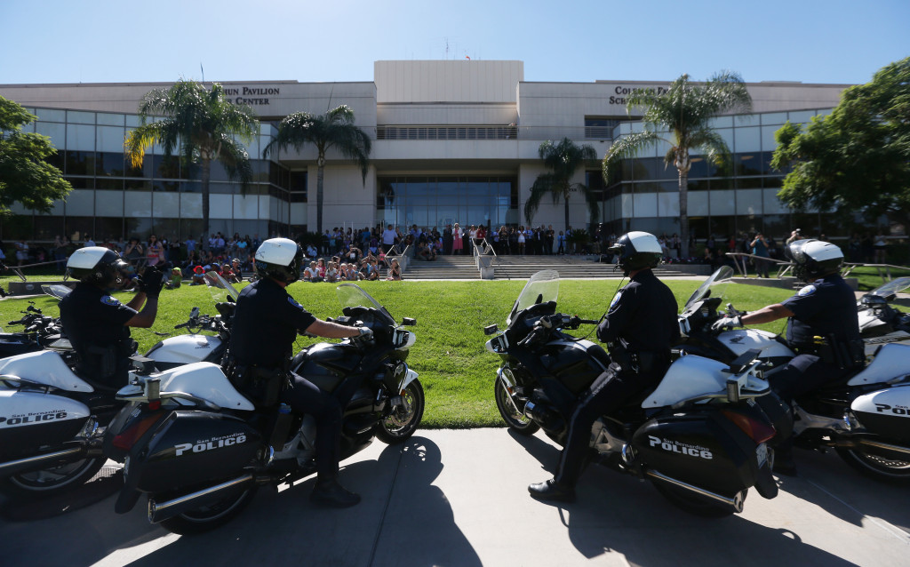 Annual Cops for Kids Fly-In delights patients at Loma Linda University Children's Hospital