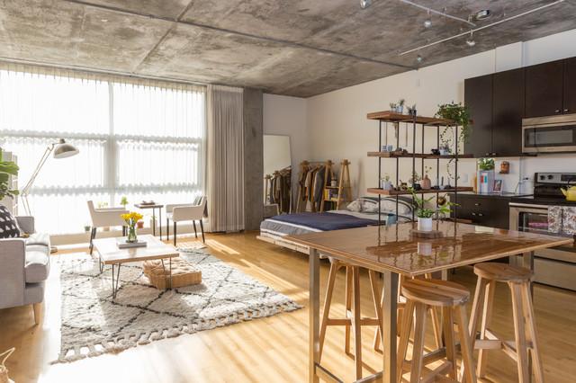 My Houzz:  Fashion Pro Brings DIY Charm to Her Studio Loft (15 photos)