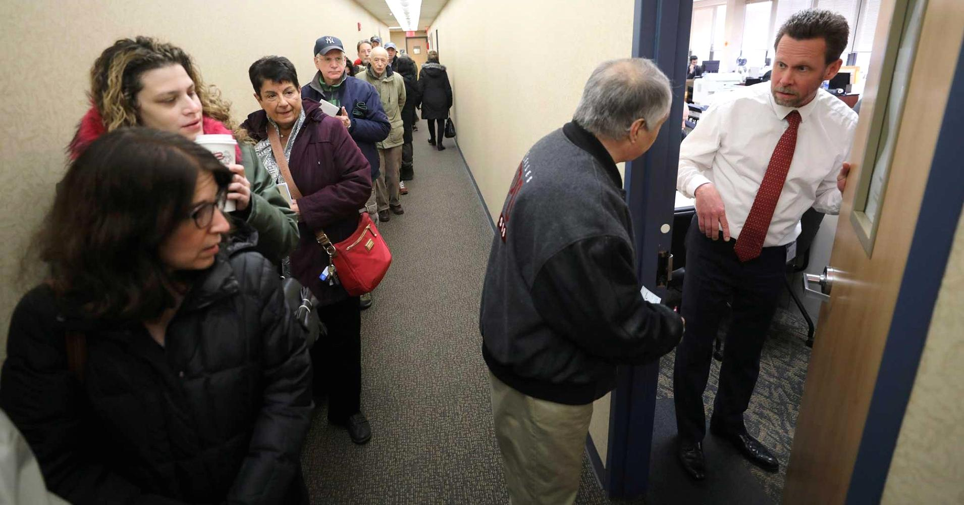Last-minute rush to prepay taxes causes confusion and anger