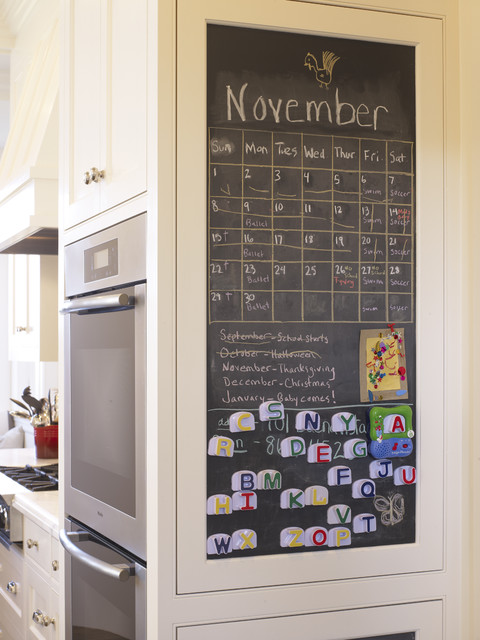 8 Inexpensive Routes to a Family Organizing Station (8 photos)