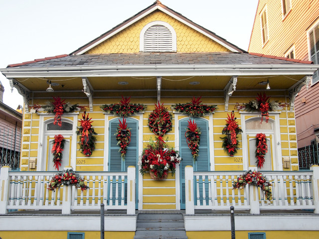 Photo Tour: New Orleans Spreads Its Cheer (49 photos)