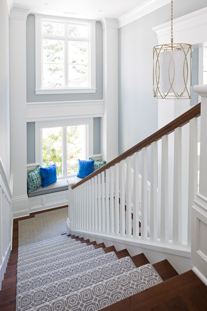 The Savvy Staircase: 7 Ways to Get More Use Out of Your Landing (9 photos)