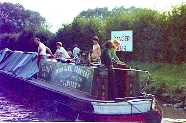 EILEEN 29.08.1972 Aynho Weir on the Oxford