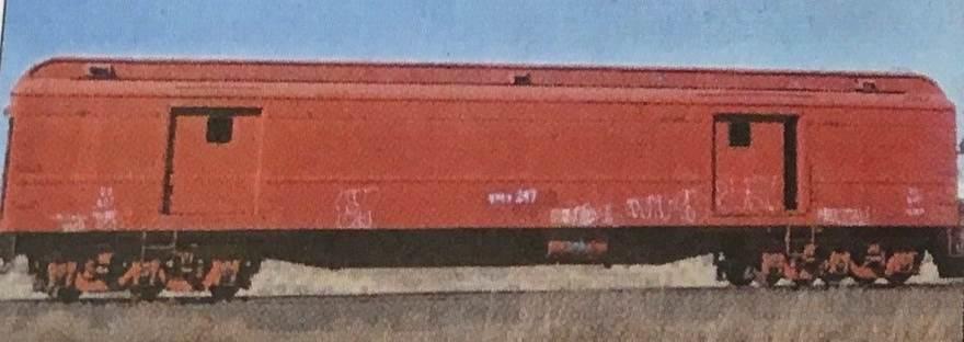 railroad post office car 247