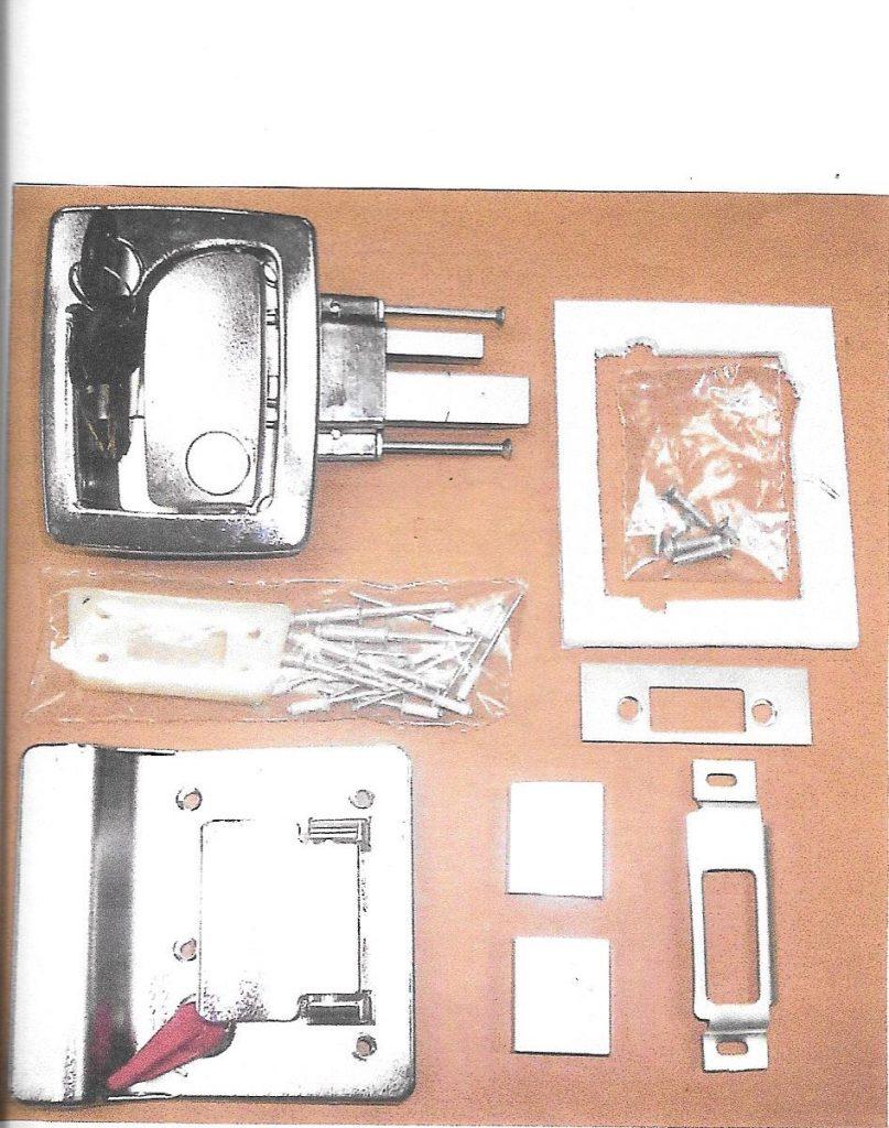 Modified Tri-Mark lock - 1966-1969 - Inland RV
