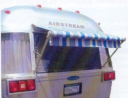Zip Dee Rear Window Awning - Inland RV
