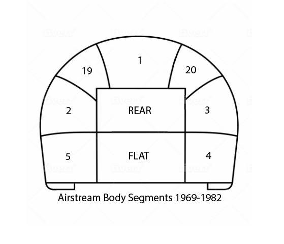 Airstream Body Panels 1969-1982 - Inland RV