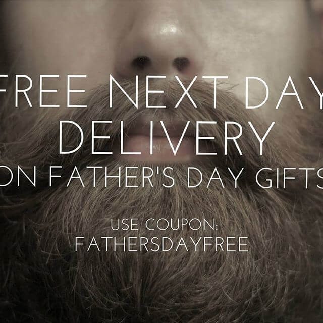 Free Next Day Delivery on Father's Day Gifts! Order by 1pm today for delivery tomorrow. Order by 1pm tomorrow for delivery on Saturday. Use coupon: FATHERSDAYFREE . . . #dad #fathersday #ilovemydad #family #parents #sundayfunday #daddy #papa #fatherandson #daddyslittlegirl #love #fatherhood #familytime #fatheranddaughter #superdaddy #bestdaddy #mydad #firstfathersday #thanksdad #bestdadaward #mydadmyhero #fathersday2018