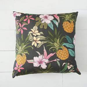 Tropical Pineapple Cushion - Art Print