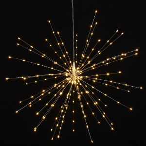 Starburst light - 50cm (Silver)
