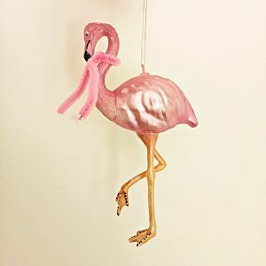 Fabulous Flamingo Christmas Decoration