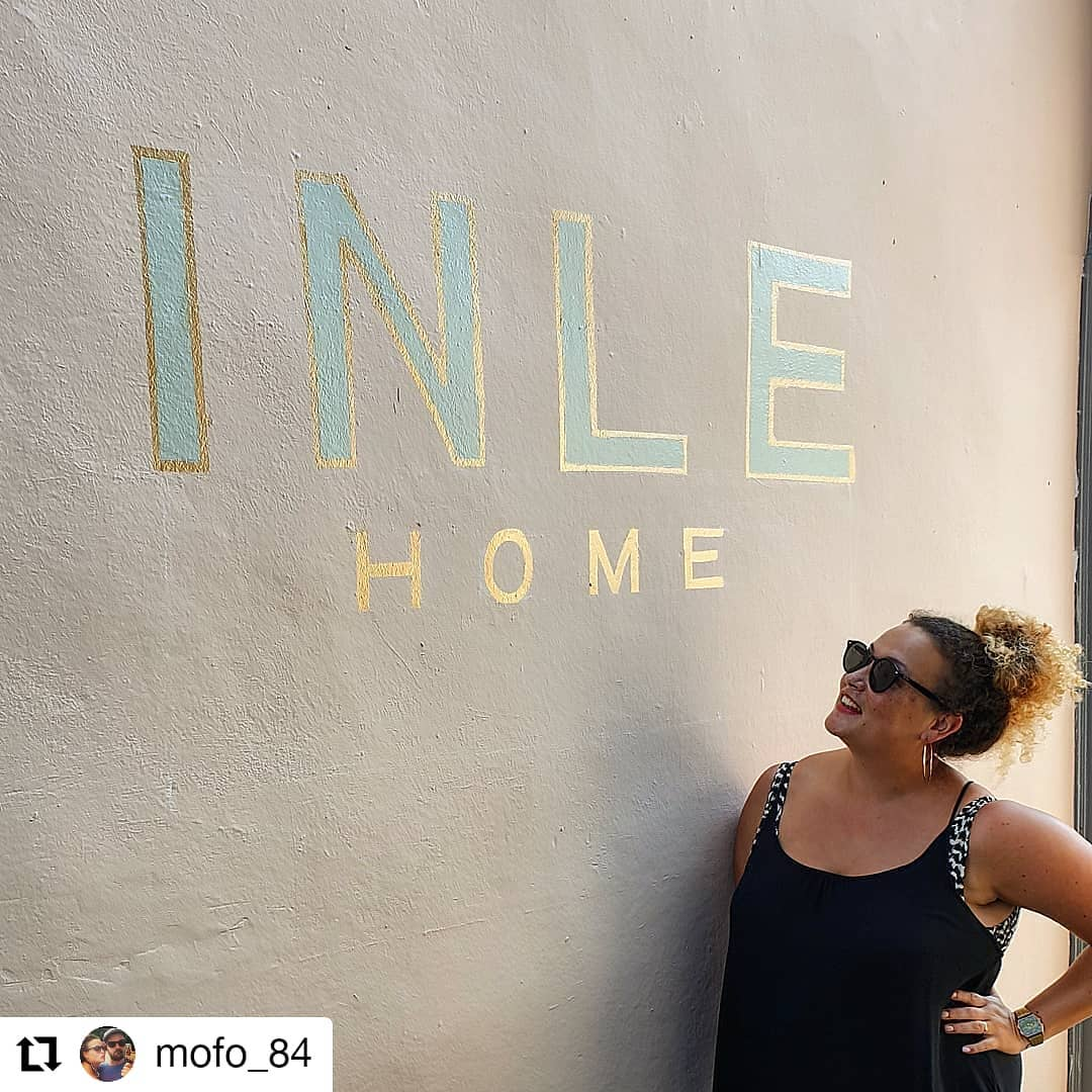@mofo_84 • • • • • • Painted up a wall, looking pretty pleased with herself