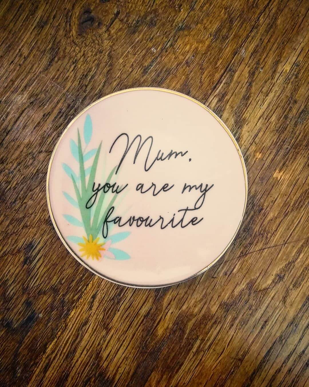 💚 Gorgeous little 'Mum' Trinket Dish just in! Perfect for Mummy's Day – Sunday 22nd March
