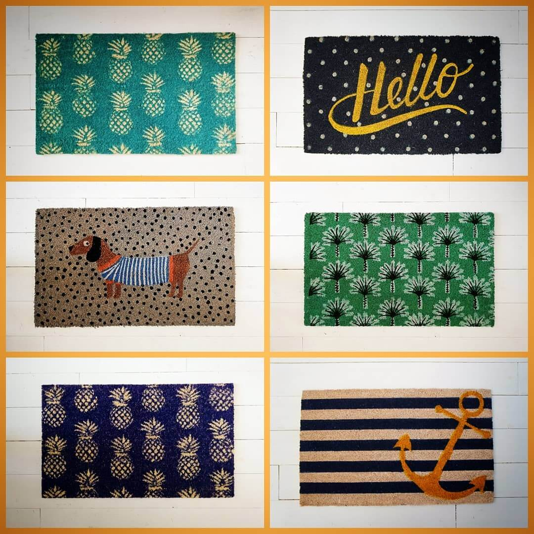 💚 Doormat anyone? All these beauties are back in stock. Available in store and online. Which one will you choose?