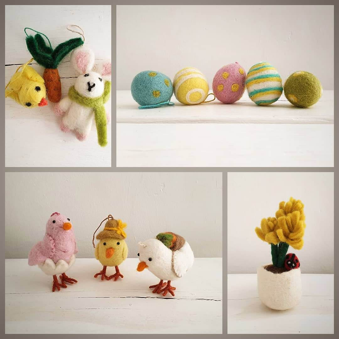 🐥 Send your loved one a handmade gift this Easter and put a smile on their face 🐥 Available online now at www.inlehome.co.uk