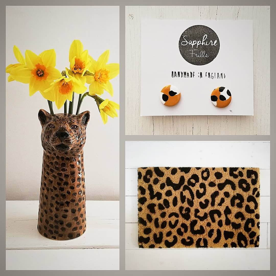 💛 LOVE LEOPARD 💛 All available at www.inlehome.co.uk .  Free Local Delivery in Seaford
