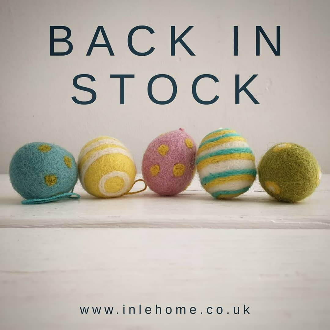 💛 You can get FREE NEXT DAY DELIVERY on these beauties if you order before 2pm up until Good Friday. Just use code EASTER2020 at the checkout. https://inlehome.co.uk/product-category/easter/