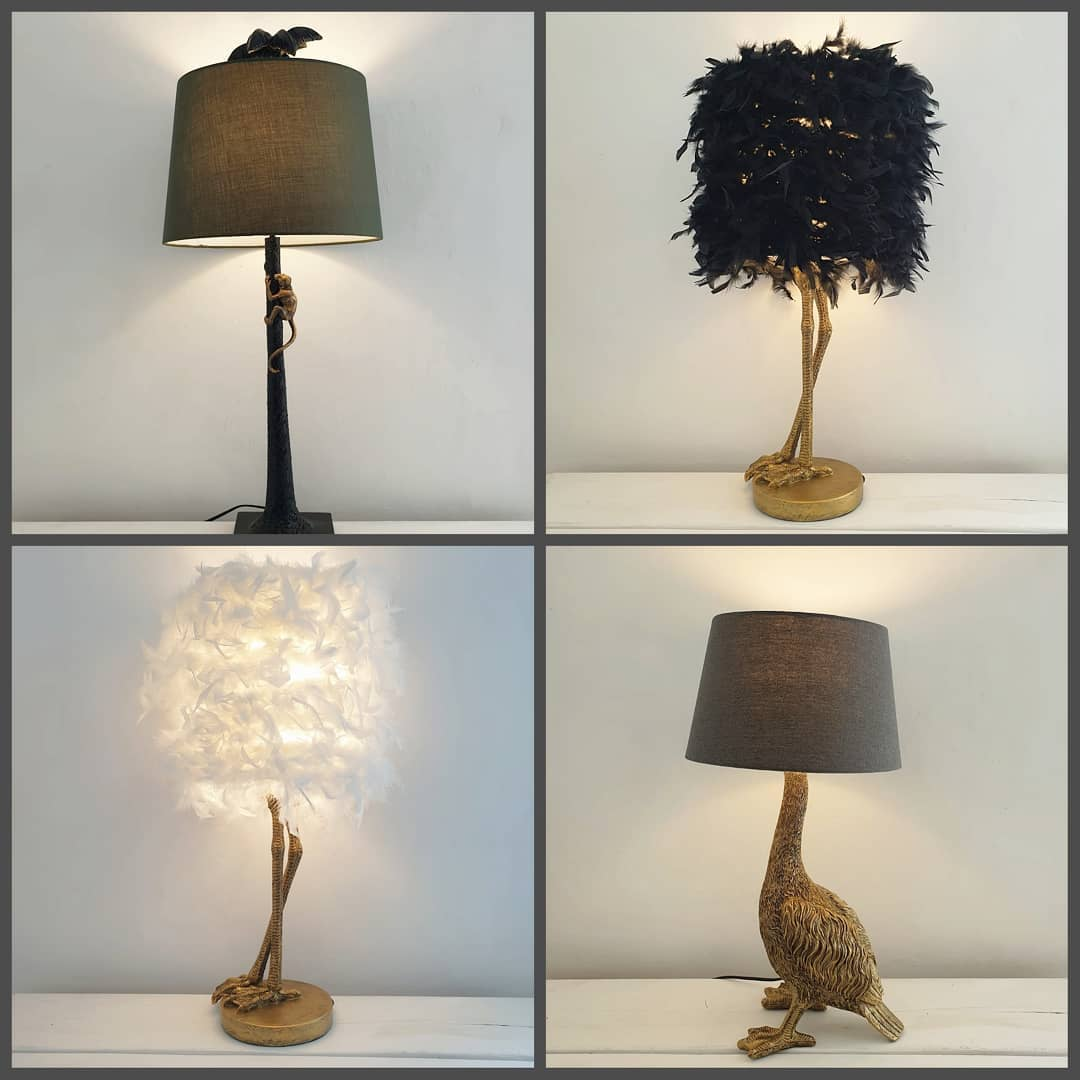 😍 Lamp anyone? Absolutely in love with every one of these beauties! All available now at www.inlehome.co.uk