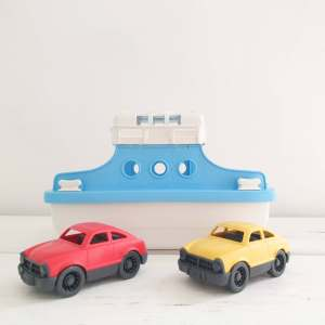 Ferry Boat with Cars By Green Toys