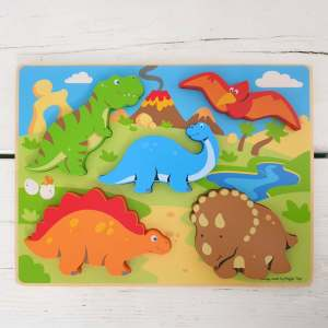 Lift-Out Dinosaur Puzzle by BigJigs