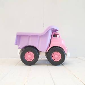 Pink Dump Truck by Green Toys