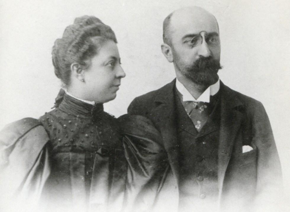 Firmengründer Hermann Gilhofer (1852–1913) und seine Frau Helene