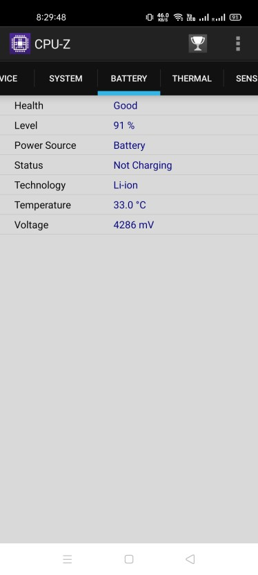 How to check processor in android phones