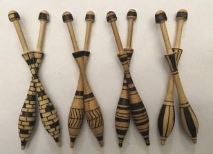 Wooden Bobbins - Set I