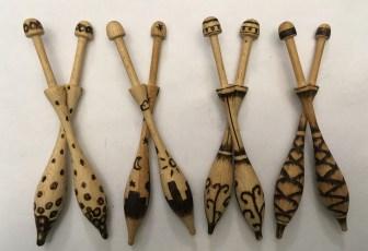 Wooden Bobbins - Set II