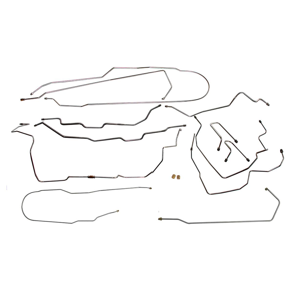 25 Chevy Tahoe Brake Line Diagram