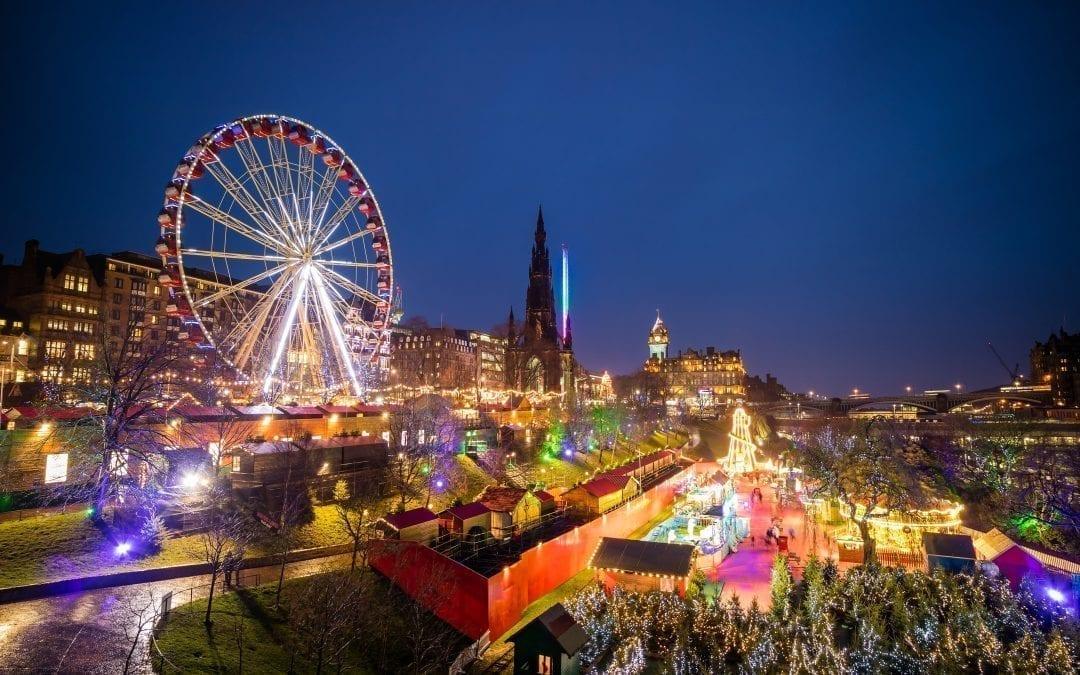 Edinburghs Christmas Begins With Light Night Extravaganza
