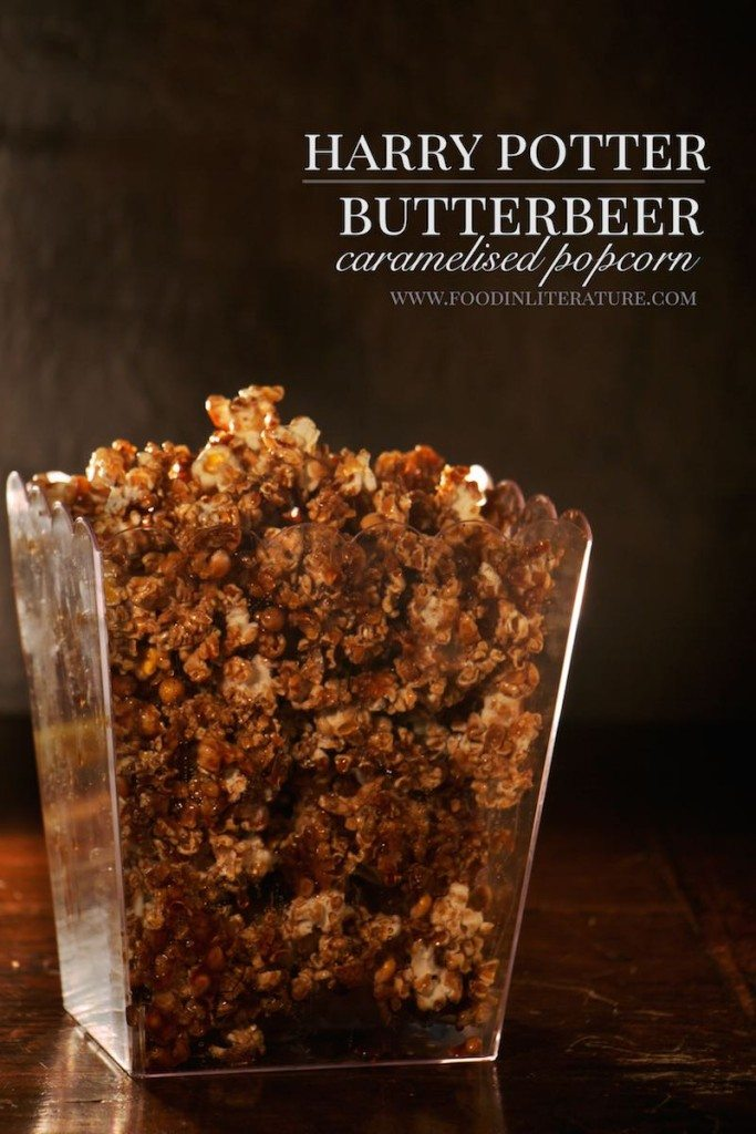 Butterbeer Caramelised Popcorn Harry Potter In Literature