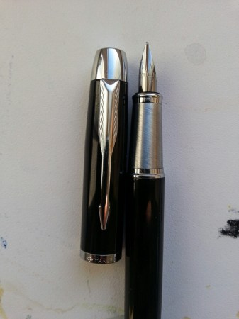 Parker IM Metal Black CT, перо M