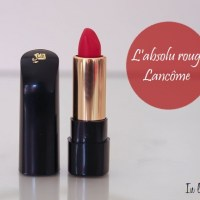 Lancôme - L'Absolu Rouge, mon Caprice!