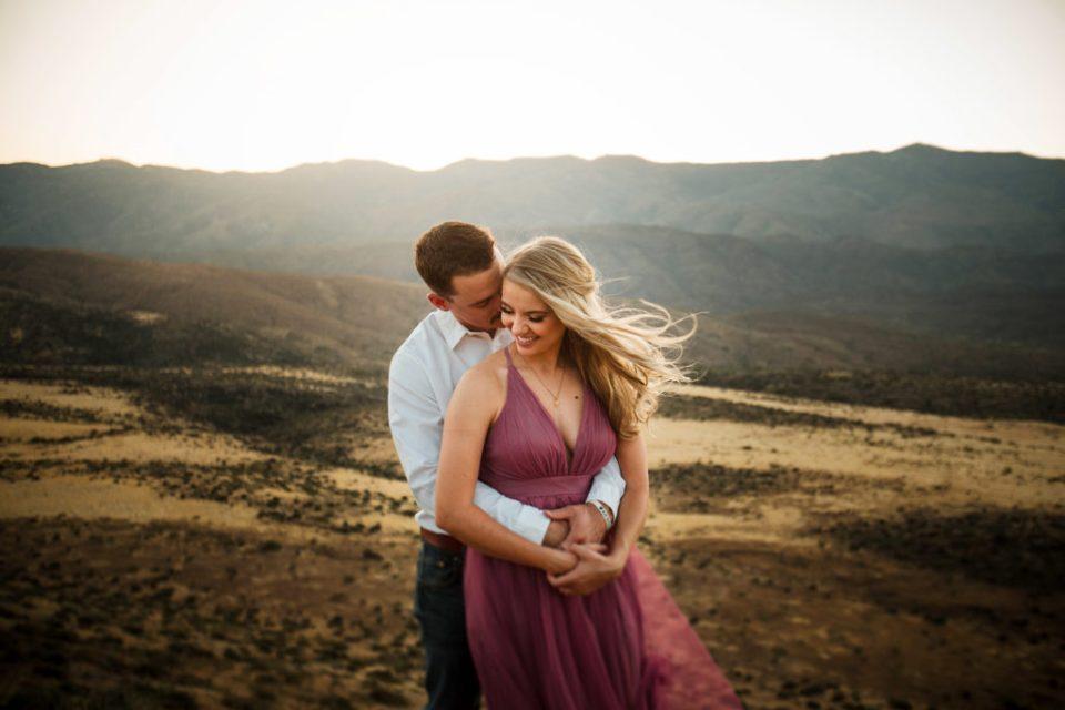 Sunset Point Arizona Engagement