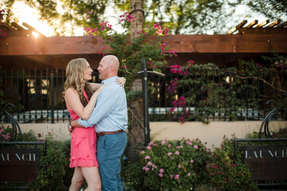 Scottsdale Old Town Engagement Photos