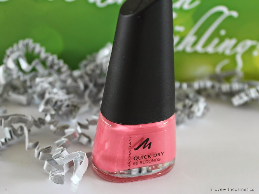 Manhatten Quick Dry 60 Seconds Nagellack