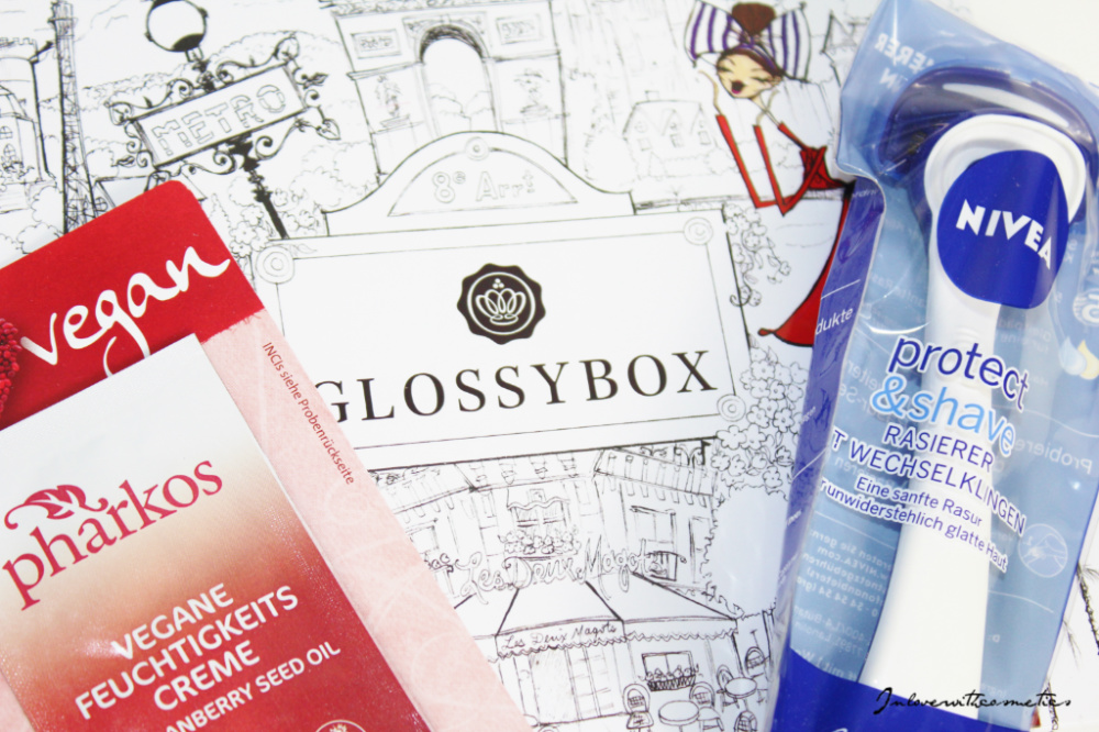 We are Glossybox nivea protect & shave