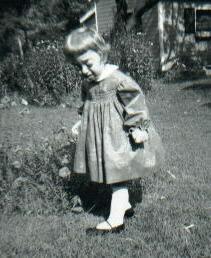 me in garden 1963