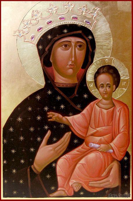 Львівська ікона Богородиці Провідниці (Одигітрії) © ФСЛ