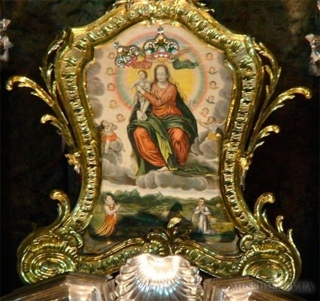 Львівська ікона Божої Матері Благодатної © ФСЛ